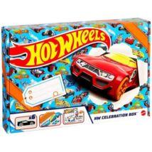 Hot Wheels Celebration Box meglepetés csomag