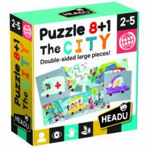 8+1 kétoldalas puzzle - Városka