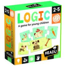 Logikai puzzle illesztőjáték - Kisállatok