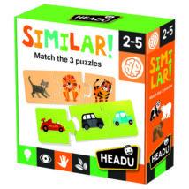 Logikai puzzle illesztőjáték - Hasonlóságok