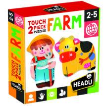 2 részes Formapuzzle - Farm