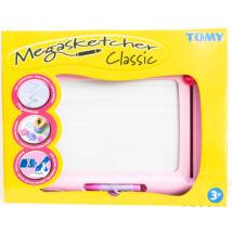 Tomy: Megasketcher mágneses rajztábla - rózsaszín
