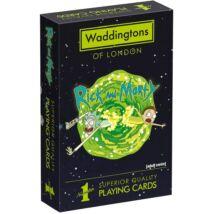 Rick és Morty francia kártya