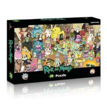 Rick és Morty - 1000 darabos puzzle