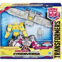 Transformers Cyberverse Űrdongó és Ocean Storm figura