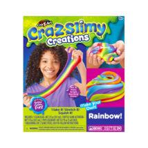 Cra-Z-Slimy: szivárvány slime készítő szett