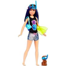 Mattel Delfin Varázslat kék-barna hajú búvár Barbie