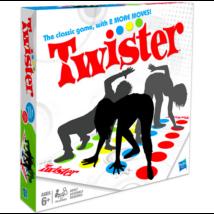Twister társasjáték két új mozdulattal - angol nyelvű