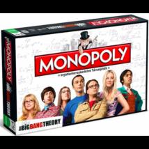 Hasbro Monopoly Agymenők - magyar nyelvű társasjáték