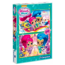 Clementoni Shimmer és Shine - 2x20 db-os puzzle