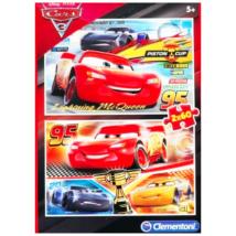 Clementoni Verdák 3 - 2x60 darabos puzzle
