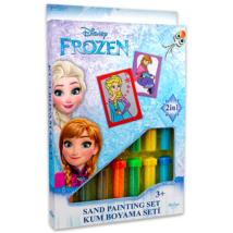 Disney hercegnők: Jégvarázs homokfestő készlet