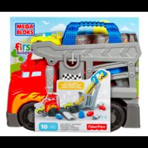 Mega Bloks versenypálya szállítóautó