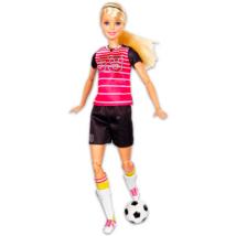 Barbie Mozgásra Tervezve: szőke hajú labdarúgó Barbie
