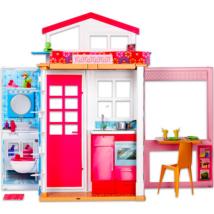 Barbie: emeletes Barbie ház teljes berendezéssel
