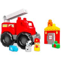 Mega Bloks: létrás tűzoltóautó