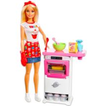 Barbie: Cukrász játékszett