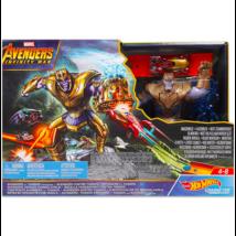 Hot Wheels - Avengers Infinity War: A Bosszúállók és Thanos harca
