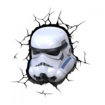 3D LED Fali lámpa Star Wars, Rohamosztagos