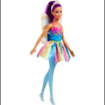 Barbie Dreamtopia: lila hajú Tündér baba