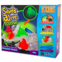 Sands Alive: világító Vulkán készlet