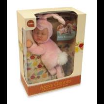Anne Geddes babák - Rózsaszín nyuszi 23 cm-es