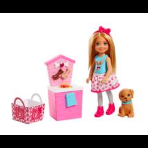 Barbie: Chelsea kiskutyájával játékszett