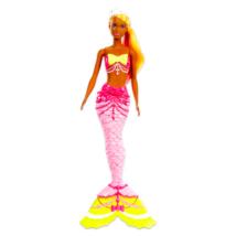 Barbie Dreamtopia: narancssárga hajú sellő baba
