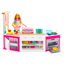 Barbie: Barbie álomkonyhája gyurmával