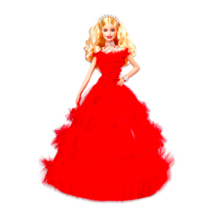 Barbie: varázslatos ünnepi baba