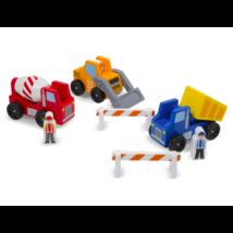 Melissa & Doug Fa jármű, Építkezés és munkagépek