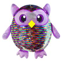 Simiflitter: bagoly figura - 35 cm, színes