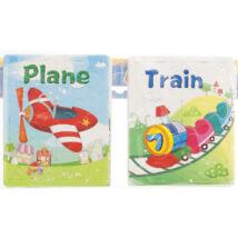 Puzzle Repülő és Vonat