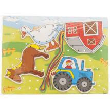 Fűzős játék farm