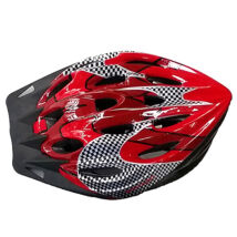 Kerékpáros bukósisak piros színben M méret - Spartan
