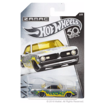 Hot Wheels Zamac 50. szülinap - 1968 Plymouth Barracuda Formula S