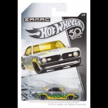 Hot Wheels Zamac 50. szülinap - 1968 Plymouth Barracuda Formula S