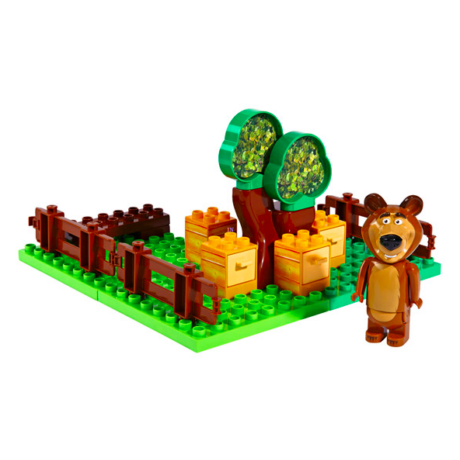 Masha: PlayBIG BLOXX - Medve kert