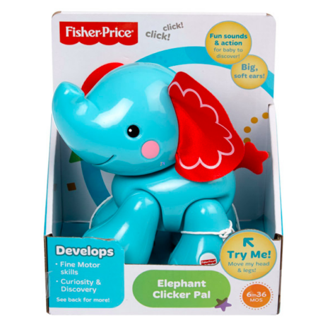 Fisher-Price: Kitt-katt elefánt