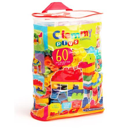 Clemmy Plus - 60 db-os építőkocka készlet