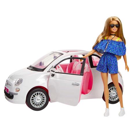 Barbie: Barbie Fiat 500 autóval