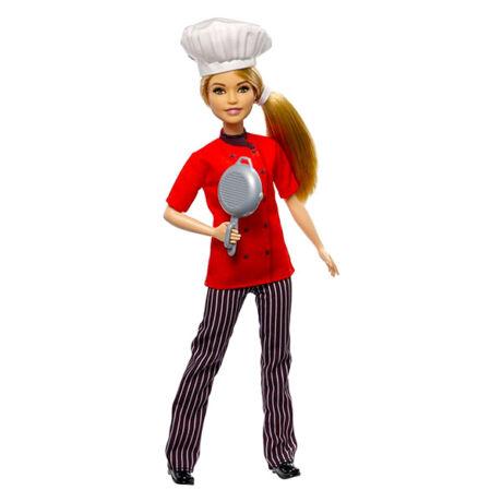 Barbie karrierista babák: szakács Barbie