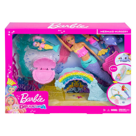 Barbie Dreamtopia: bébiszitter játékszett