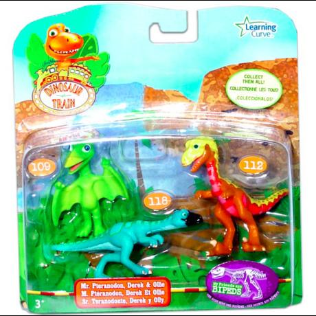 T-Rex Expressz: Pteranodon bácsi, Derek és Ollie