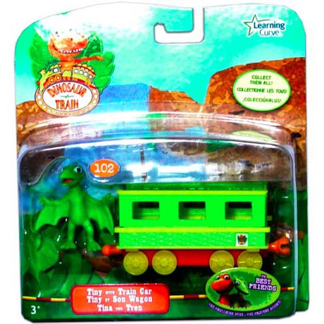 T-Rex Expressz: Tiny vonatkocsival