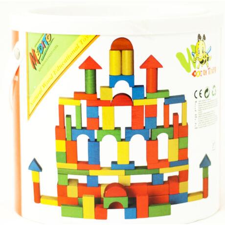 Wooden Toys - építőkocka