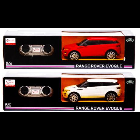 Rastar Range Rover Evoque R/C autó - fehér színben