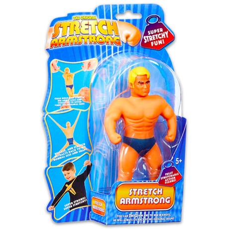 ARMSTRONG: nyújtható erőember mini figura