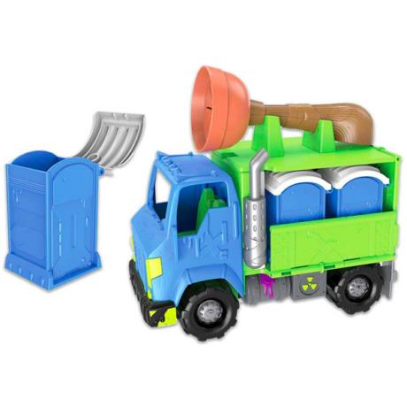 Flush Force: szállítóautó