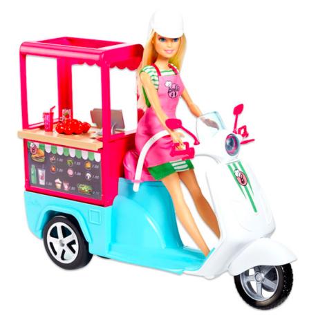 Barbie: Barbie streetfood robogója